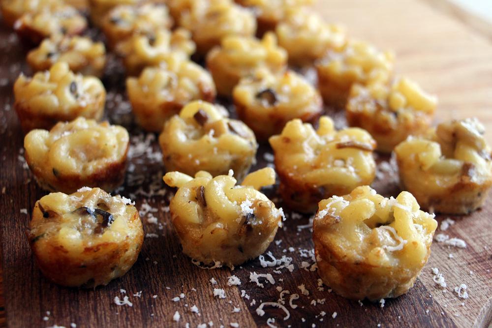 Wild Mushroom Mac and Cheese Bites. Photo: Wendy Goodfriend