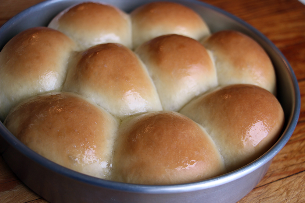 Pull-Apart Dinner Rolls. Photo: Wendy Goodfriend