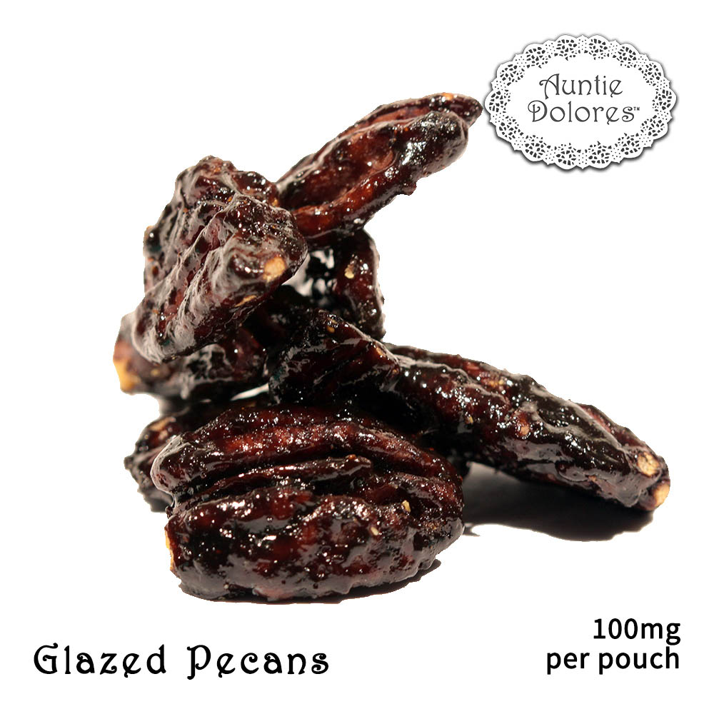 Cannabis-Infused Glazed Pecans from Auntie Dolores