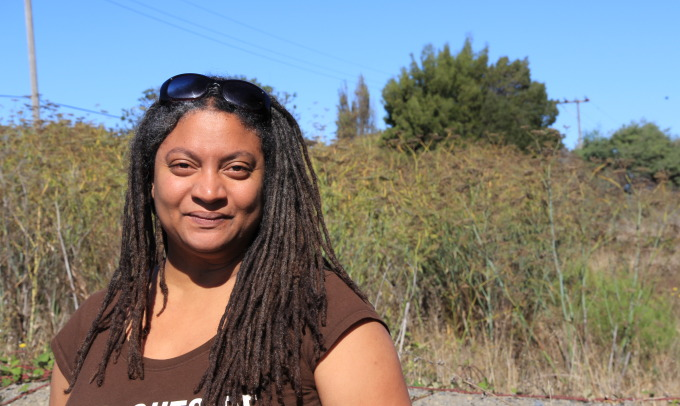 Doria Robinson is transforming an empty lot in North Richmond, California. Photo: Twilight Greenaway