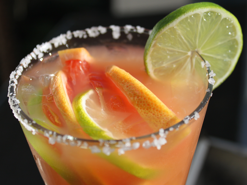 Roasted Grapefruit & Habanero Margarita. Photo: Jerry James Stone