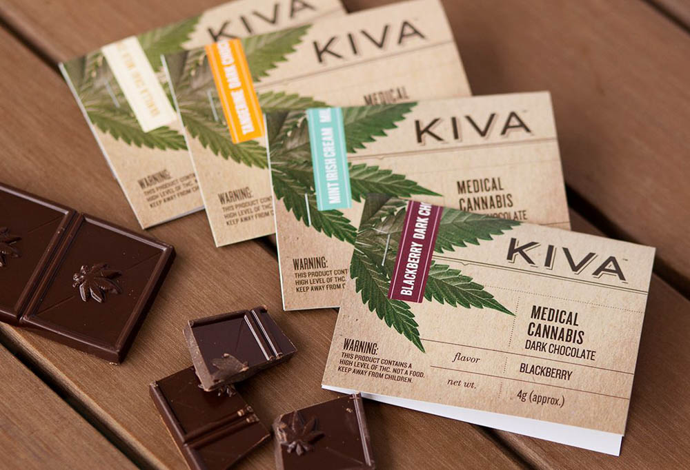 KIVA Confections Chocolate Bars