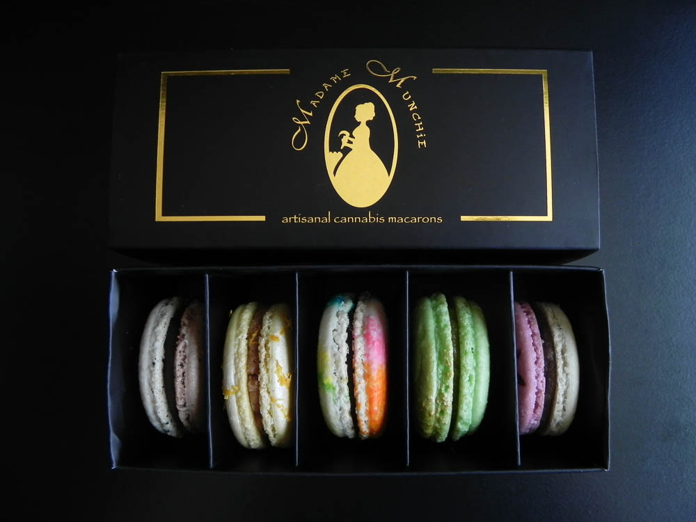 Cannabis Macarons, Madame Munchie