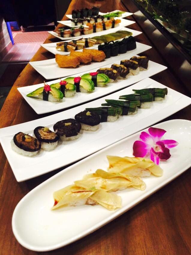 Nigiri dishes from Shizen restaurant in San Francisco, California. Photo: Courtesy of Shizen
