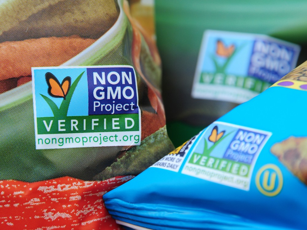 Demand is growing for GMO-free labels on food products, according to the Non-GMO Project, one of the principle suppliers of the label. Photo: Robyn Beck/AFP/Getty Images