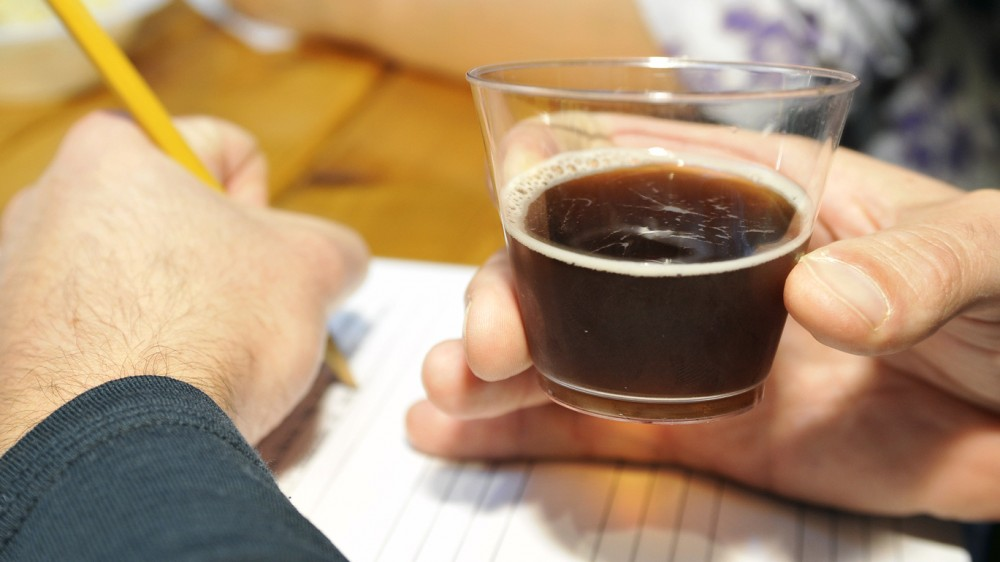 Clean Water Services held a brewing competition in Sept. 2014, inviting 13 homebrewers to make beer from its purified wastewater (as well as water from other sources). Now the company is asking the state for permission for brewers to use its wastewater product exclusively to make beer. Photo: Courtesy of Clean Water Services