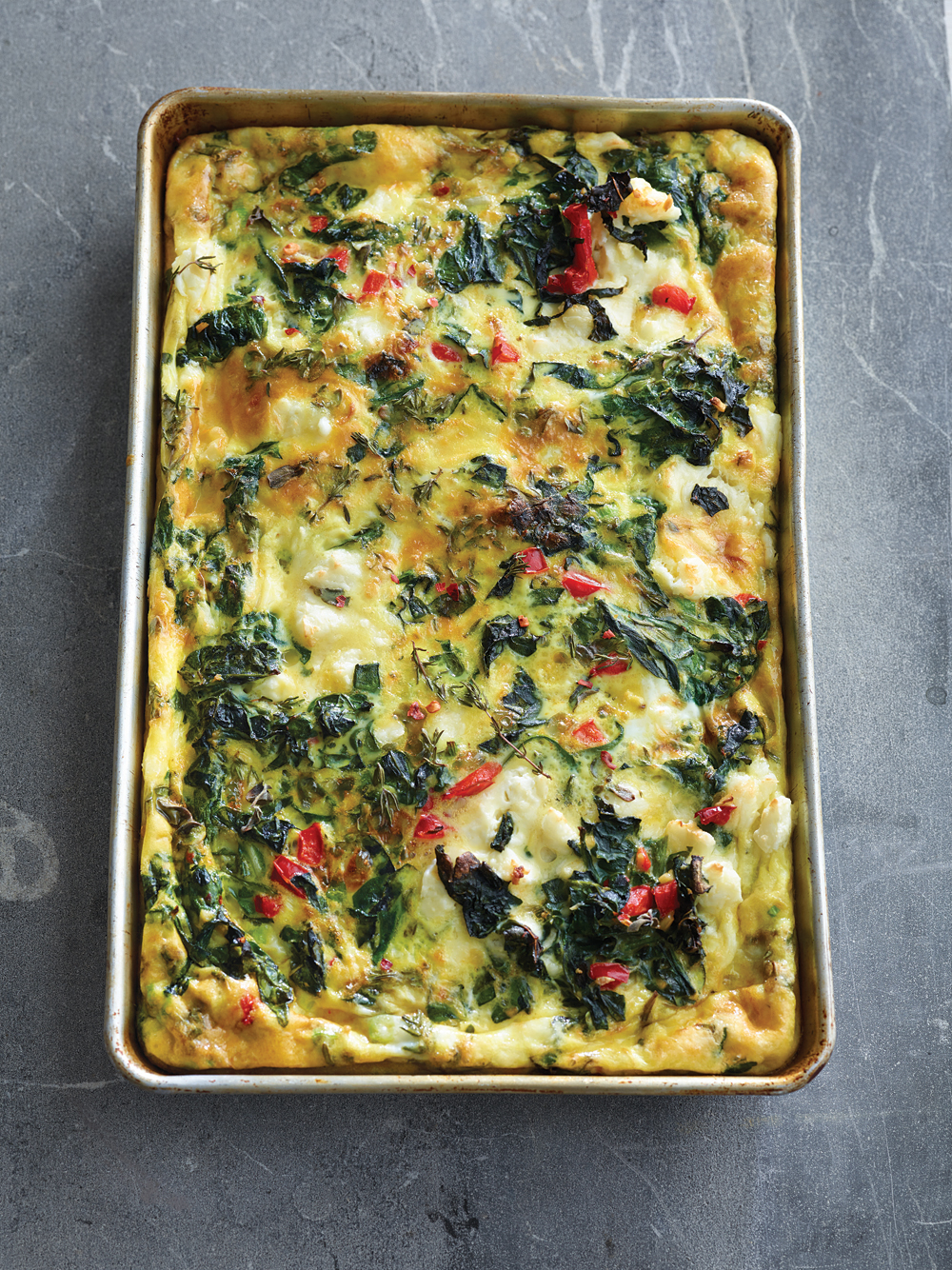 Triple Greens Frittata. Photo: Maren Caruso
