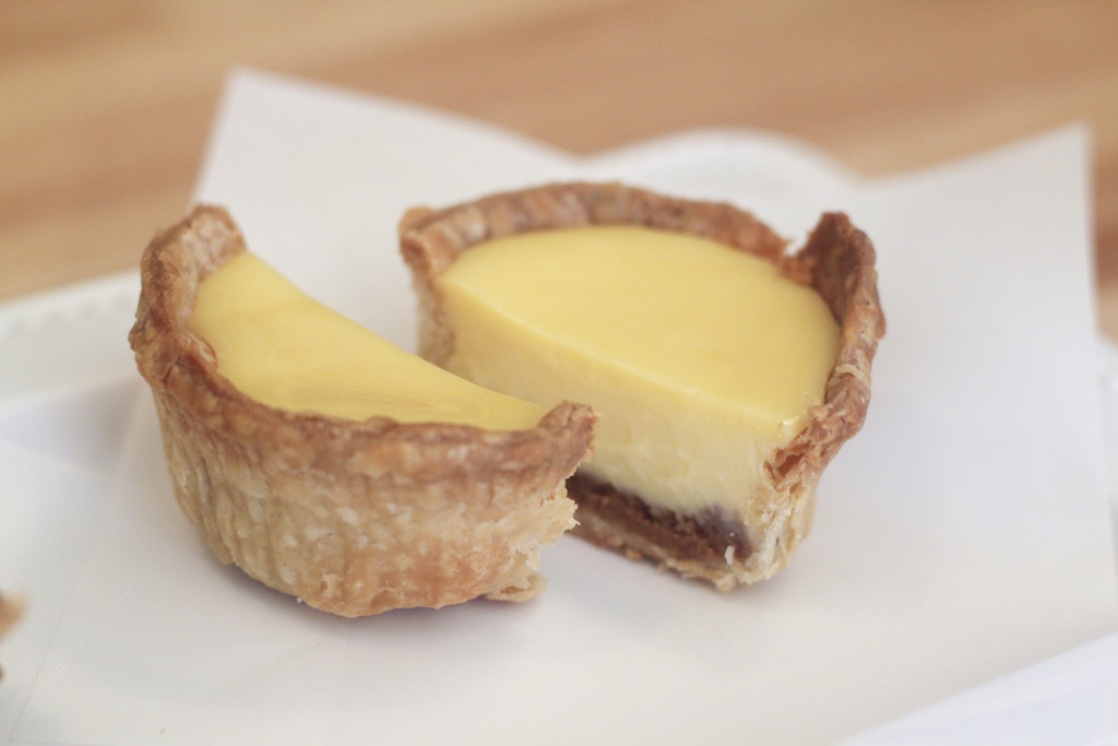Meyer Lemon mini-pie with graham cracker base. Photo: Courtesy of Jasmin Porter