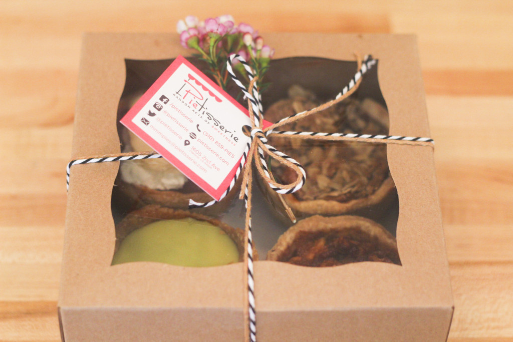 The mini-pie box is perfect for gifts. Photo: Courtesy of Jasmin Porter