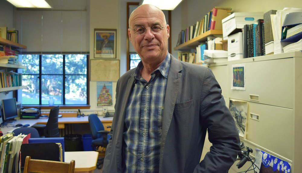 Mark Bittman in his new office at UC Berkeley Photo: Shelby Pope