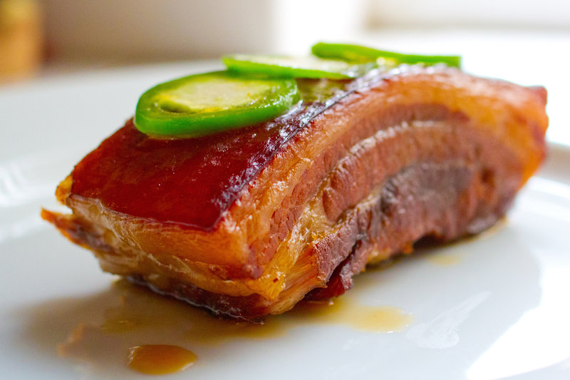 "A slice of pork belly, with a thick layer of fat. ""If we confirm that fat is a basic taste quality, it's the equivalent of saying chartreuse is a primary color,"" Richard Mattes of Purdue University says. ""It changes our basic understanding of what taste is."" Photo: Xiao He/Flickr"