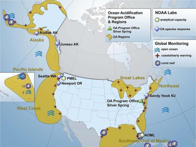 NOAA Map: National Oceanic and Atmospheric Administration