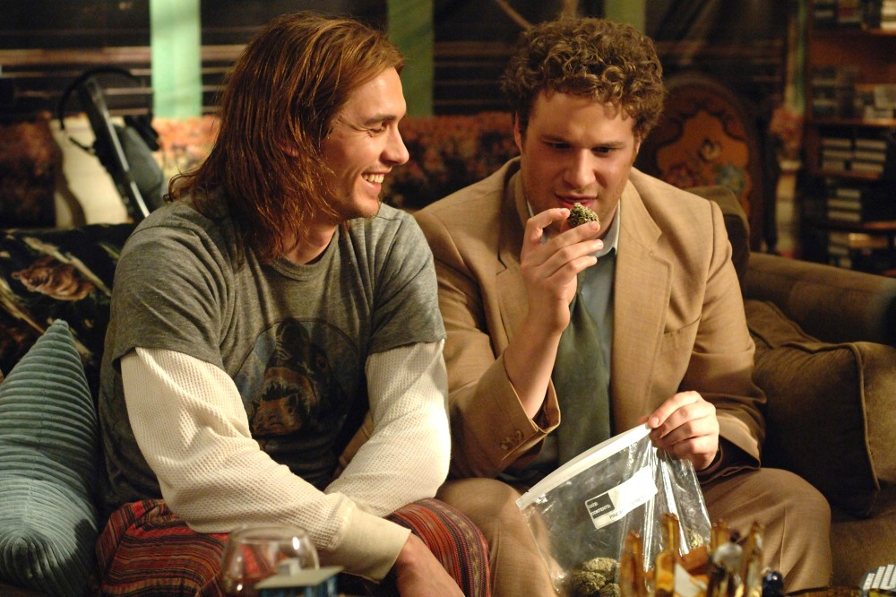 After the pot-smoking comes the insatiable hunger. Just ask James Franco and Seth Rogen's weed-loving characters in Pineapple Express. Photo: The Kobal Collection