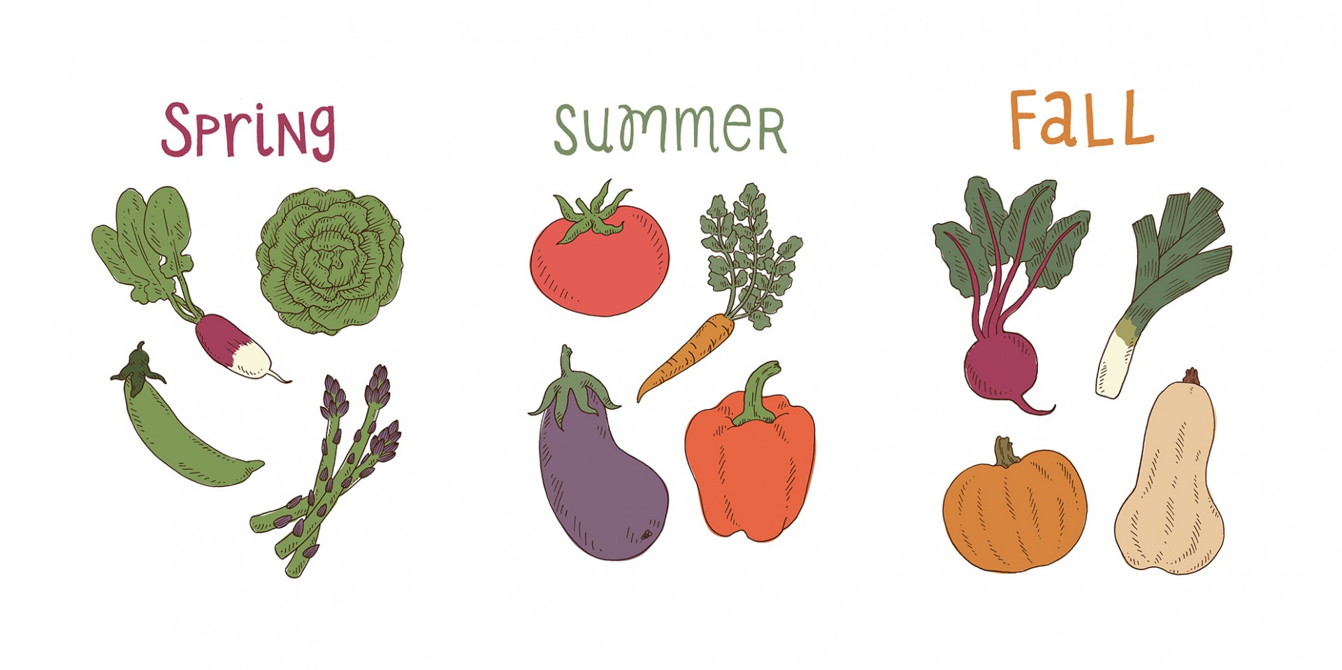 The temporary tattoos from Tater Tats come in three different seasonal packs. Image: Courtesy of Jenna Weiler