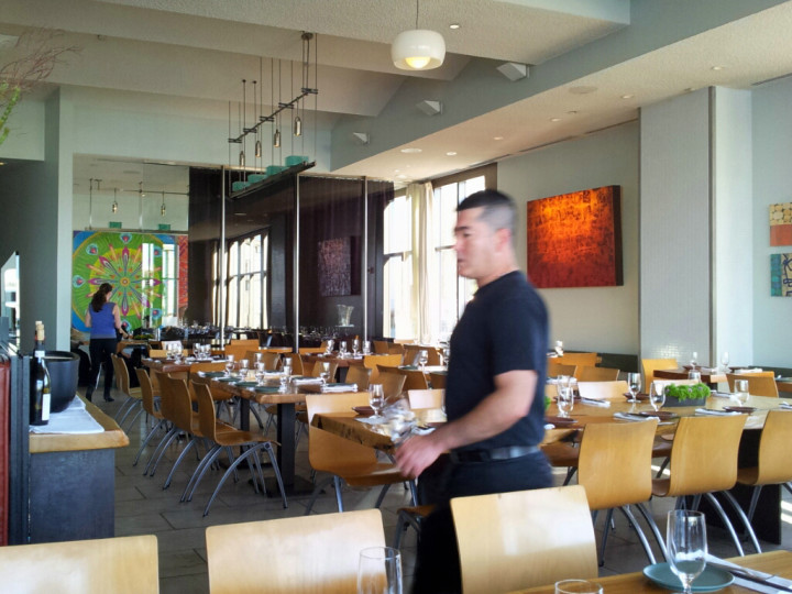 Charles Phan's restaurant Slanted Door which is celebrating its 20th anniversary. Photo: SierraValleyGirl