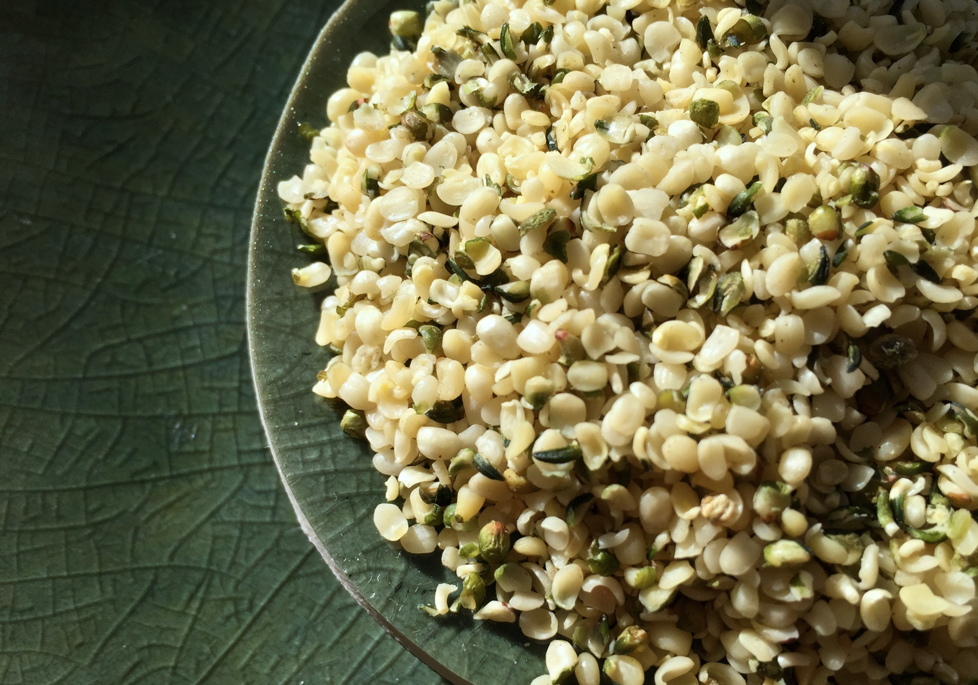 Hemp Seeds. Photo: Lisa Landers