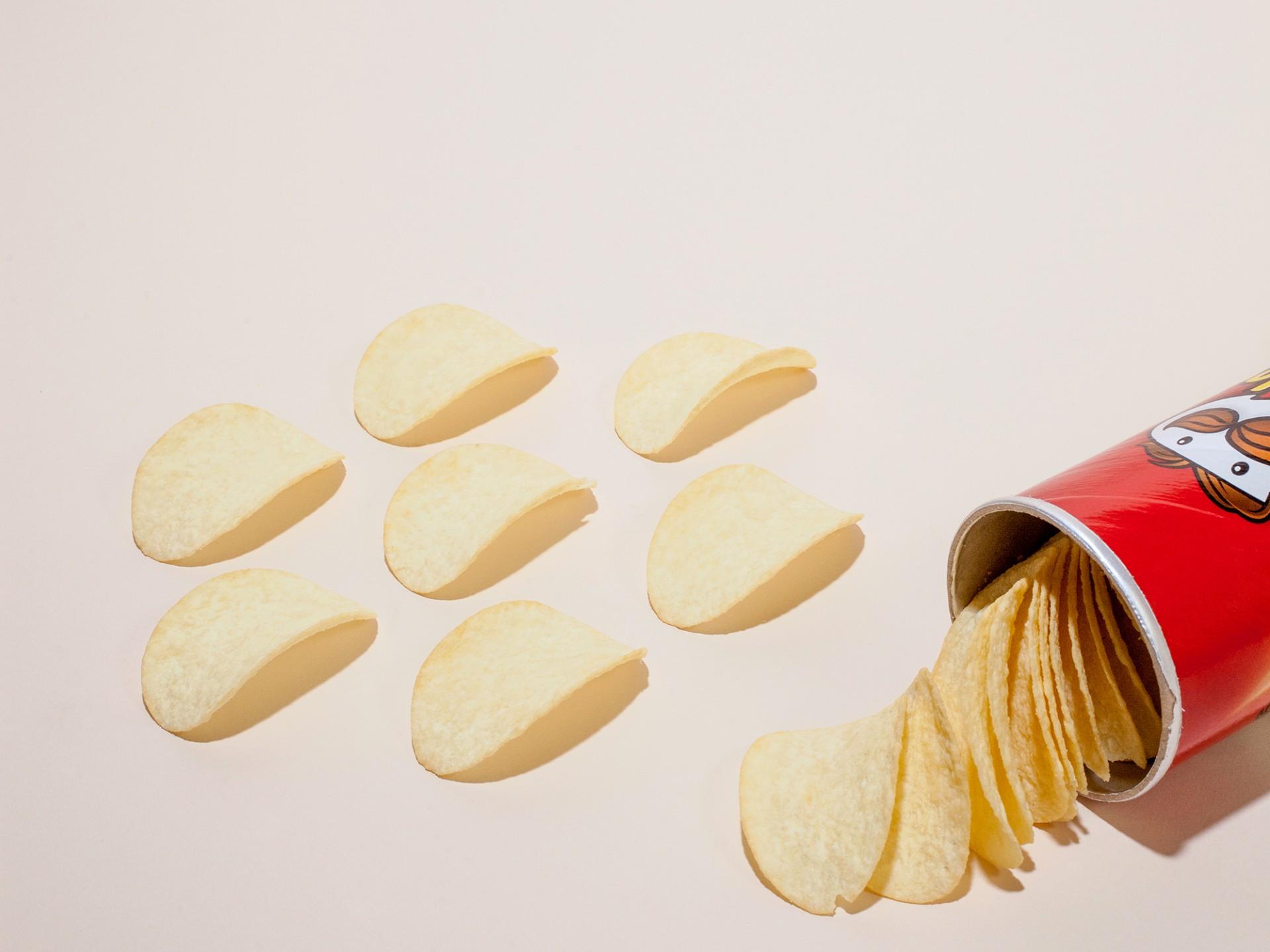 Pringles. Image: Ariel Zambelich/NPR