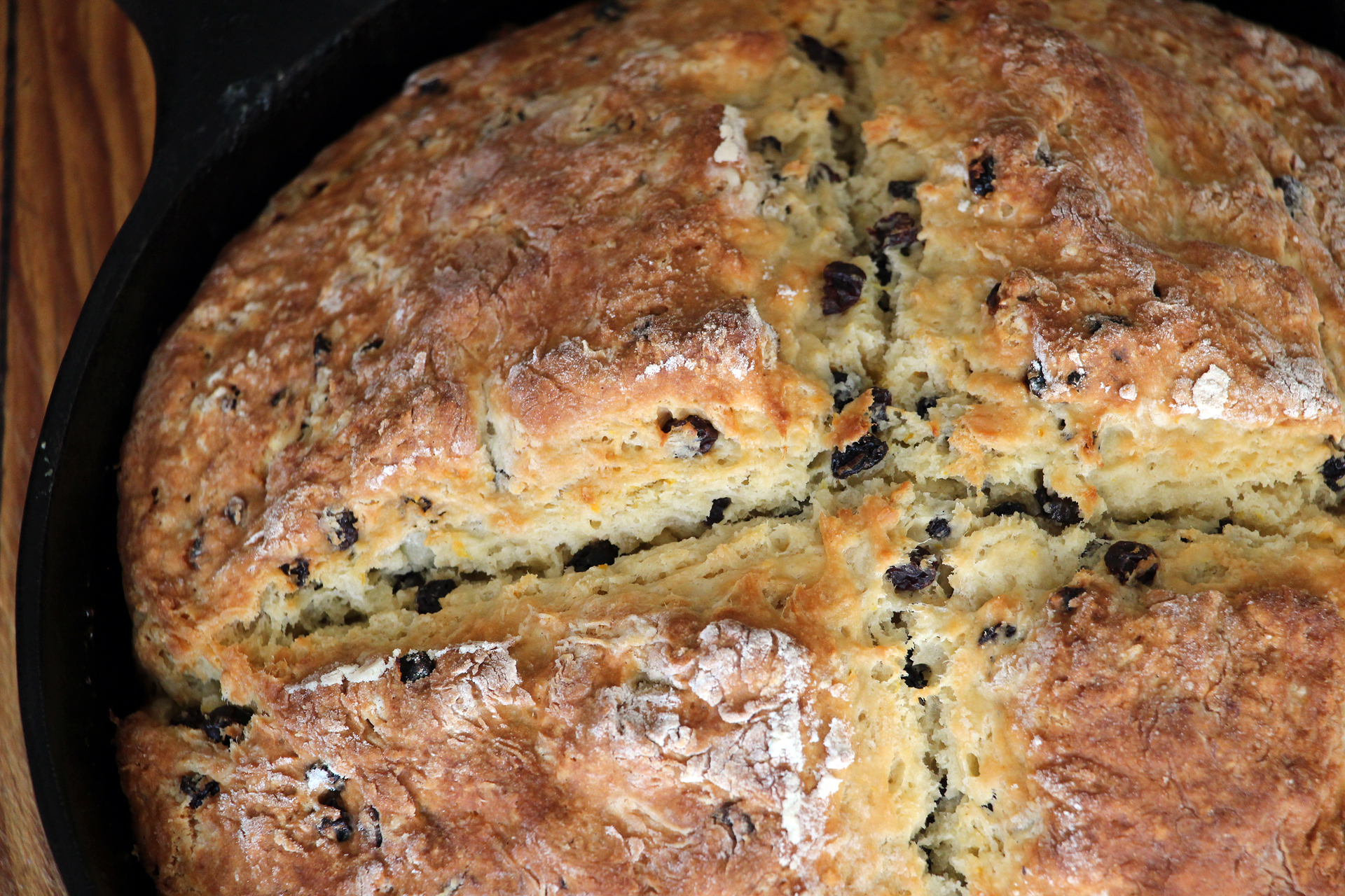 Irish-American Soda Bread with Currants and Orange Zest. Photo: Wendy Goodfriend