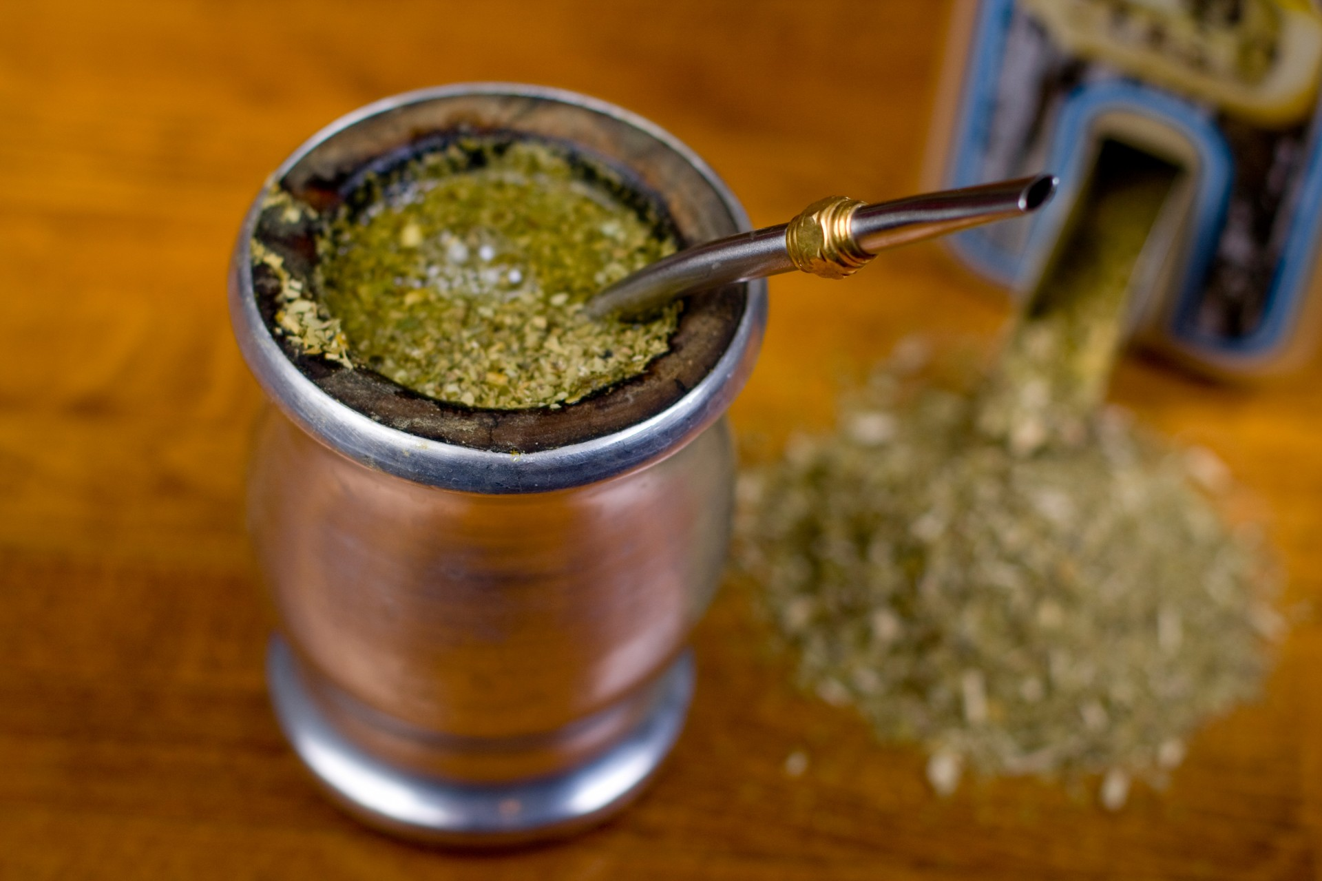 A gourd of yerba mate. Legend has it that the moon gifted this infusion to the Guaraní people of South America. Photo: iStockphoto
