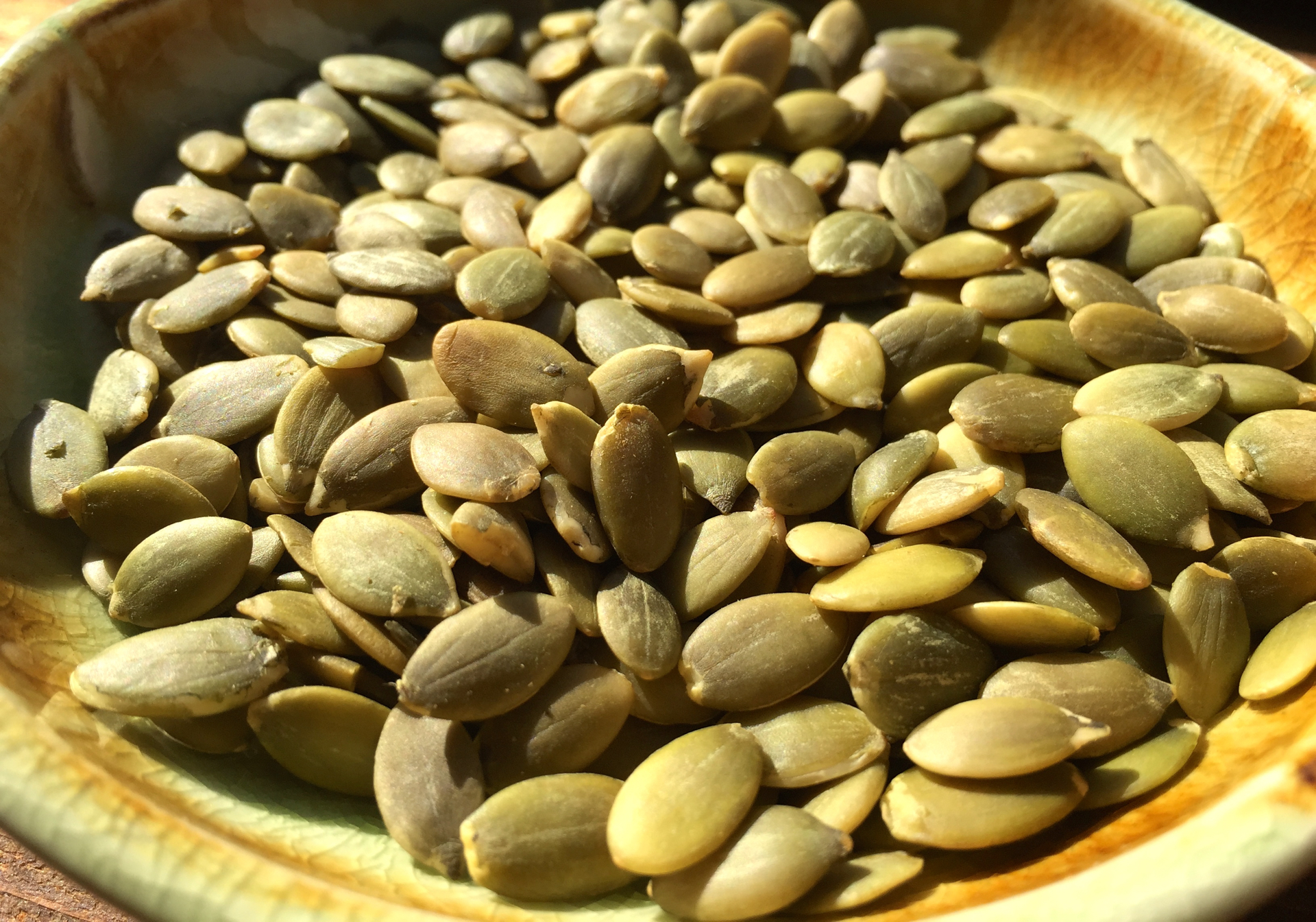 Pumpkin Seeds. Photo: Lisa Landers