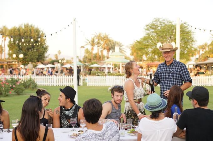 Coachella dinner