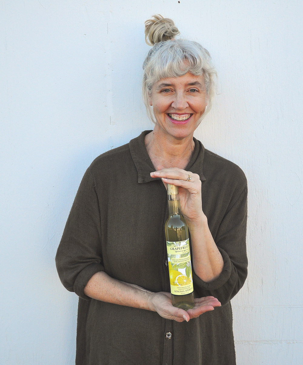 Laura Hagar-Rush is making lovely aperitifs in Sonoma County from heirloom fruit like bergamot, Buddha's hand, yali pear and Chinese quince grown around the Bay Area.