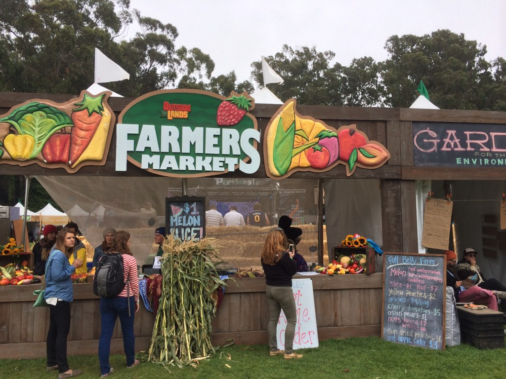 Outside Lands farmers market