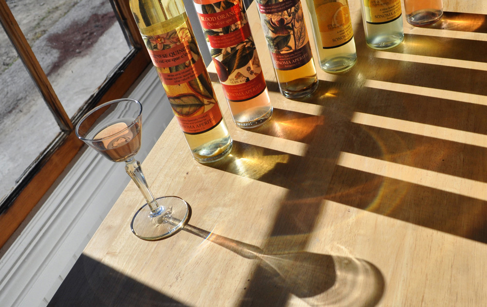 Sonoma Aperitif products not only have intense aromas and great balance but they come in alluring pastel colors.