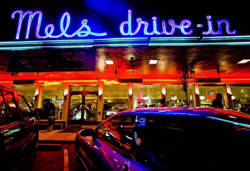 Mel's Drive-In on Geary Street in San Francisco