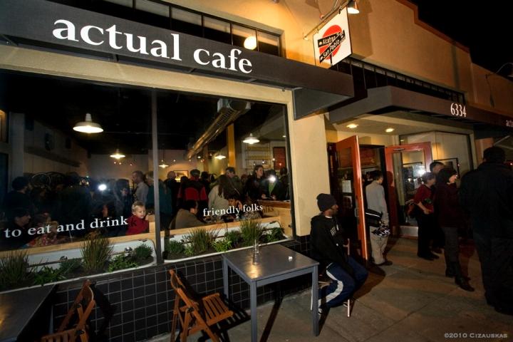 Actual Café.