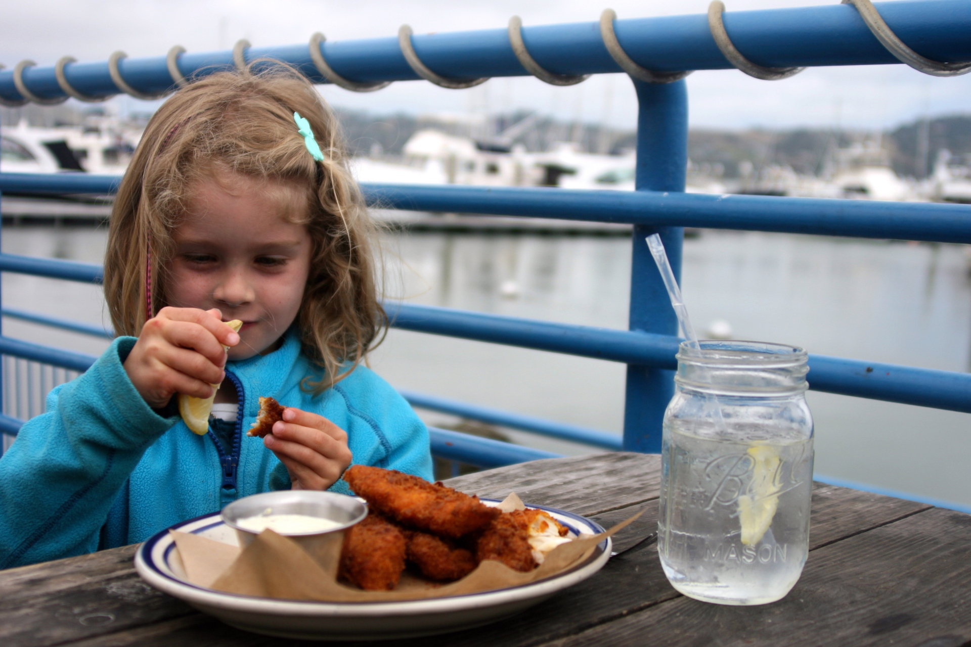 Kids' fish sticks made with fresh cod.