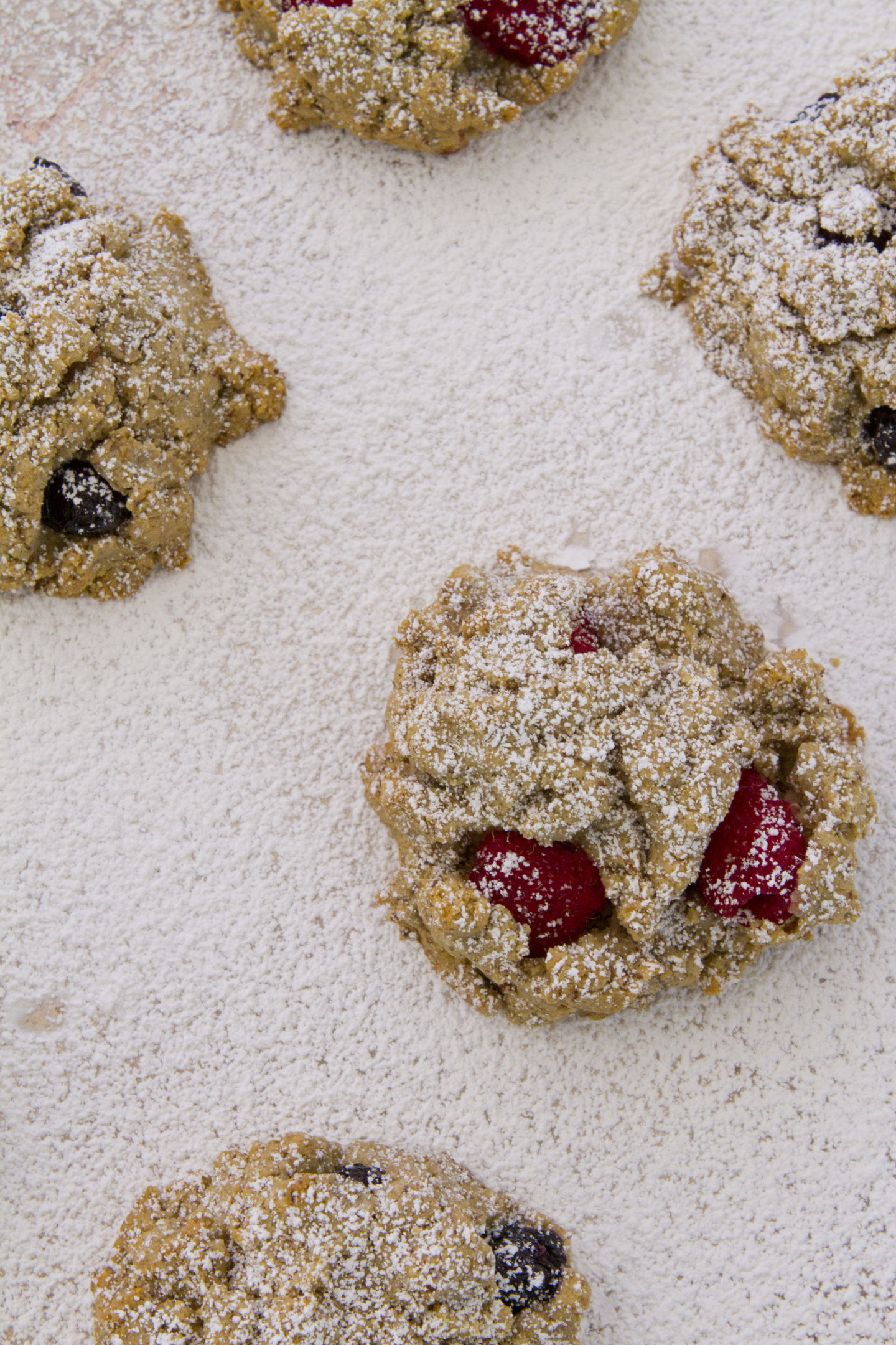 Gluten-free berry scones
