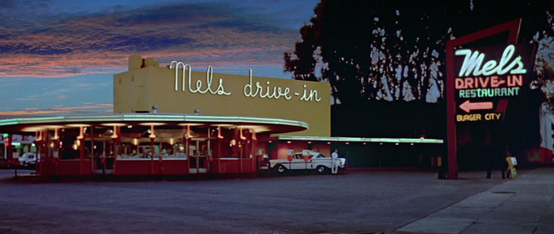 Mel's Drive in, as featured in George Lucas' American Graffiti