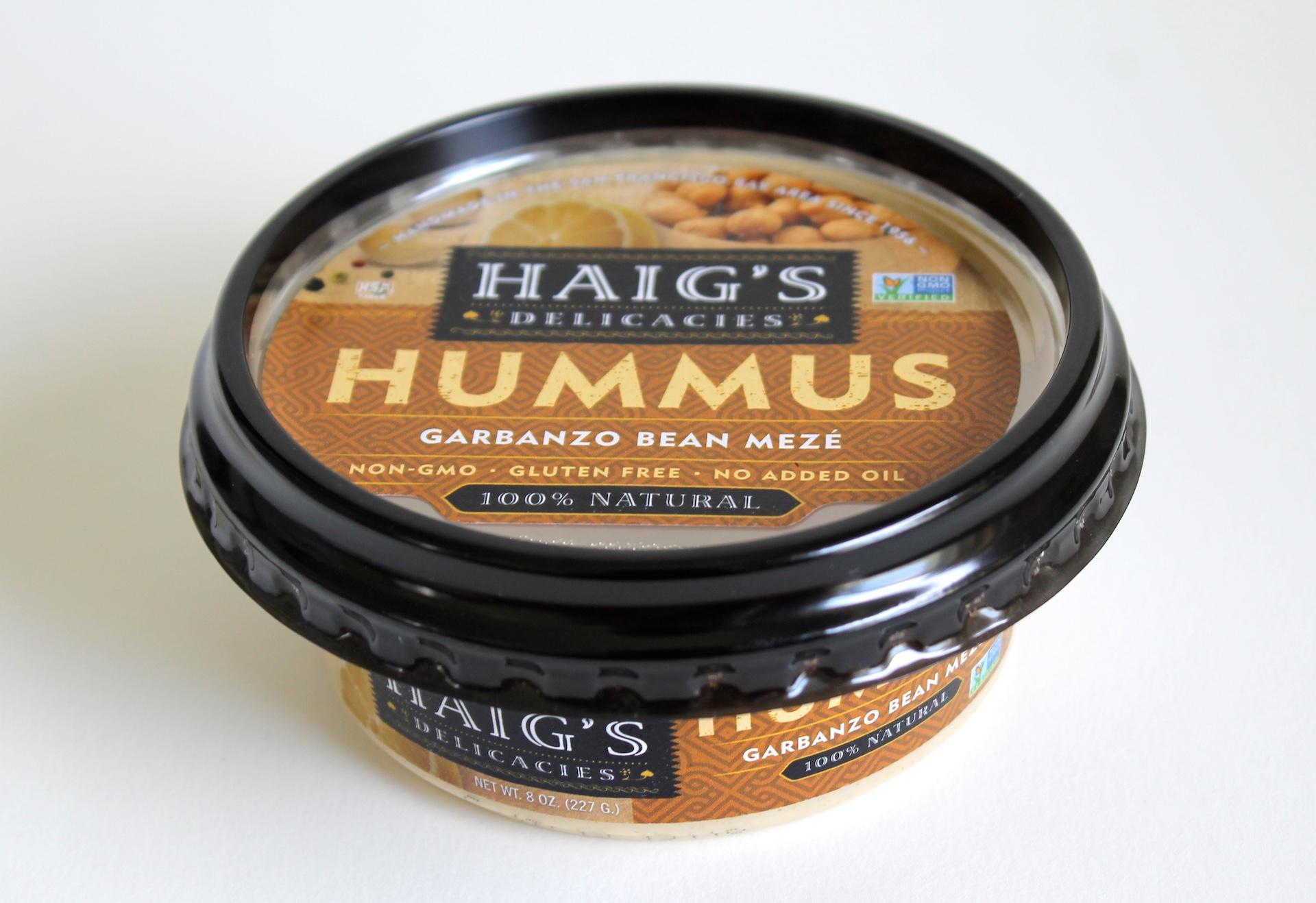 Haig's Hummus Garbanzo Bean Meze