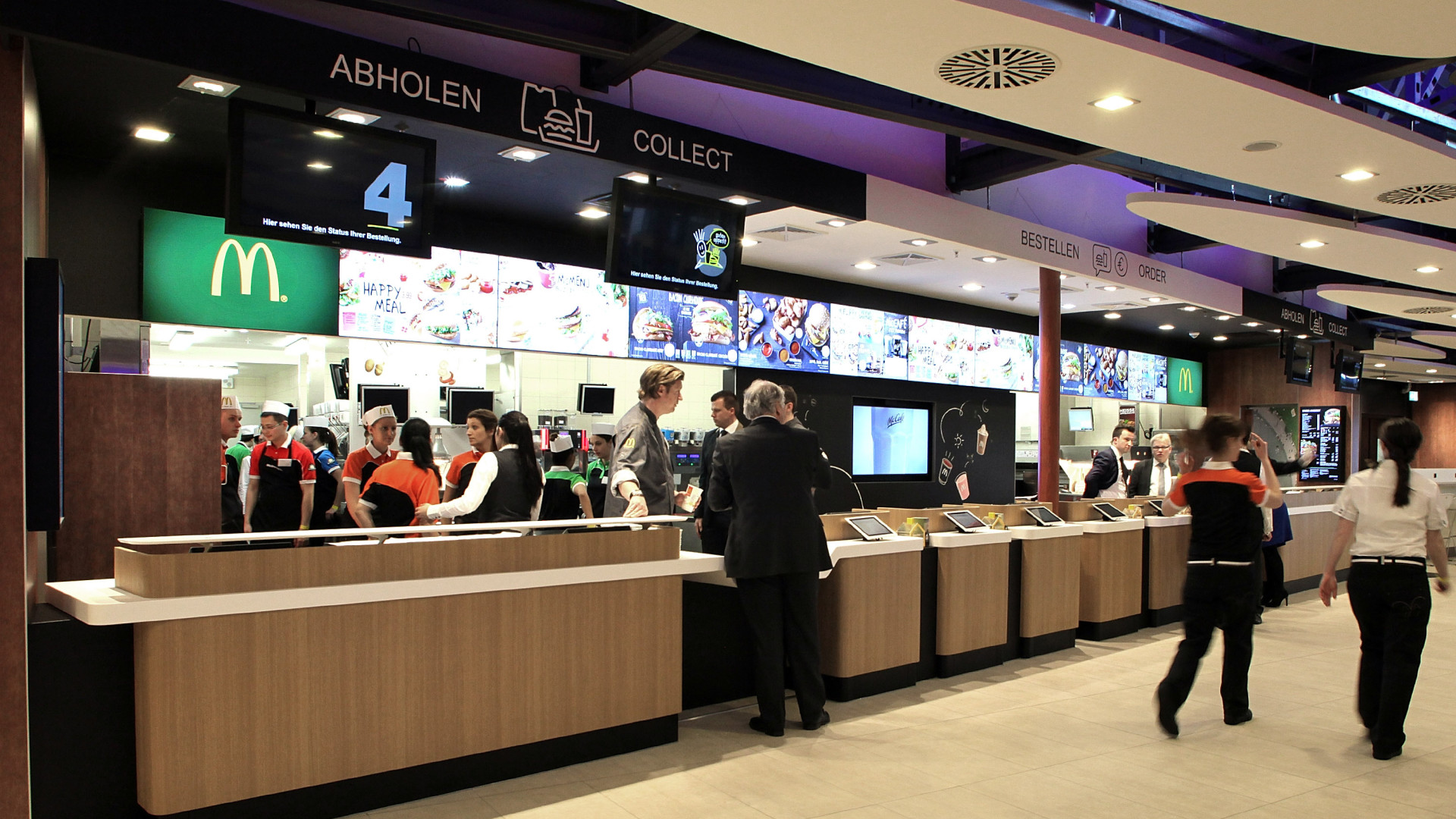 Under a new global structure, McDonald's is grouping markets in Germany where a new McDonald's Flagship Restaurant opened in March, with other high-performing countries such as Australia and Canada.