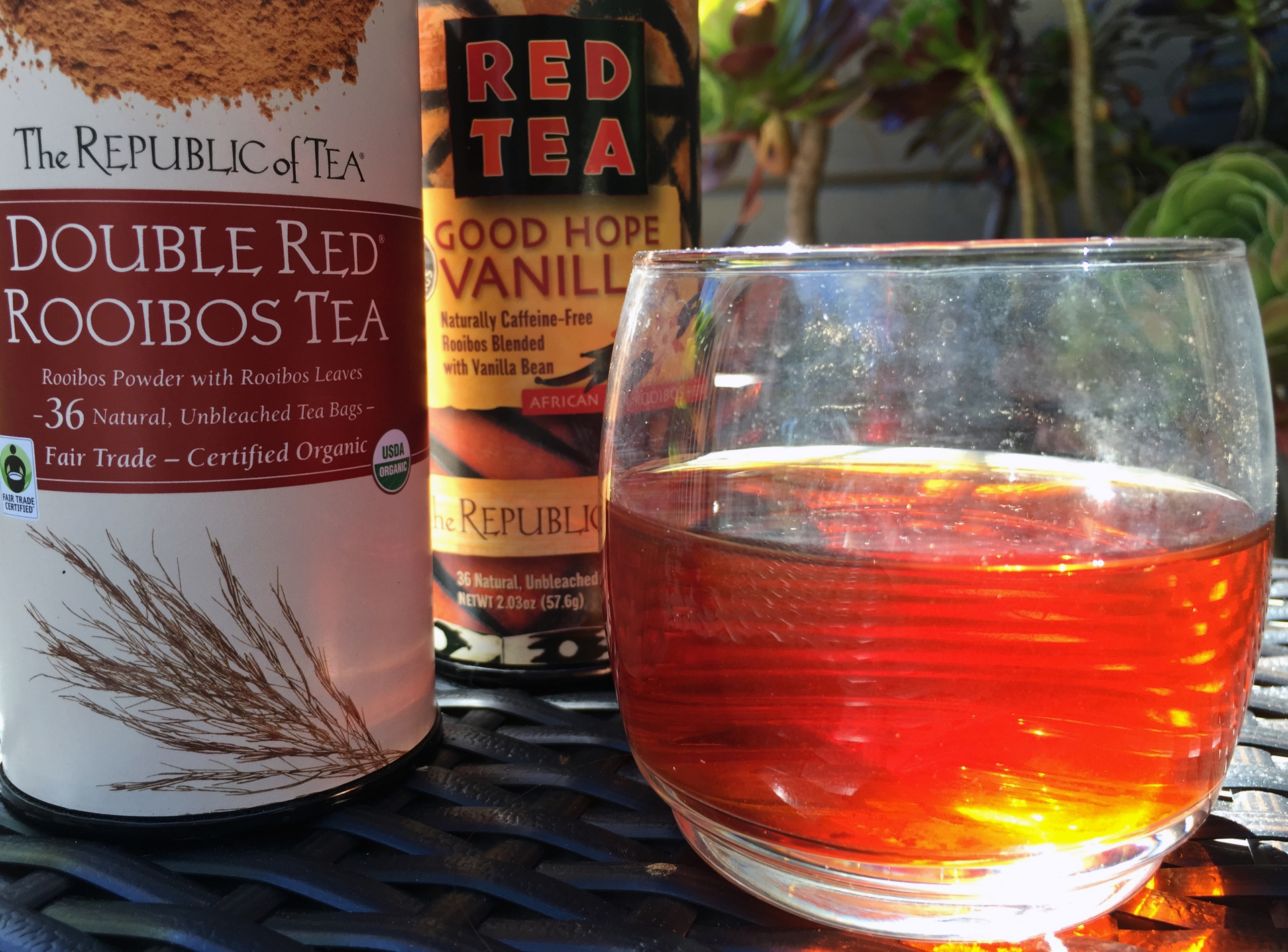 The Republic of Tea's most popular rooibos teas.