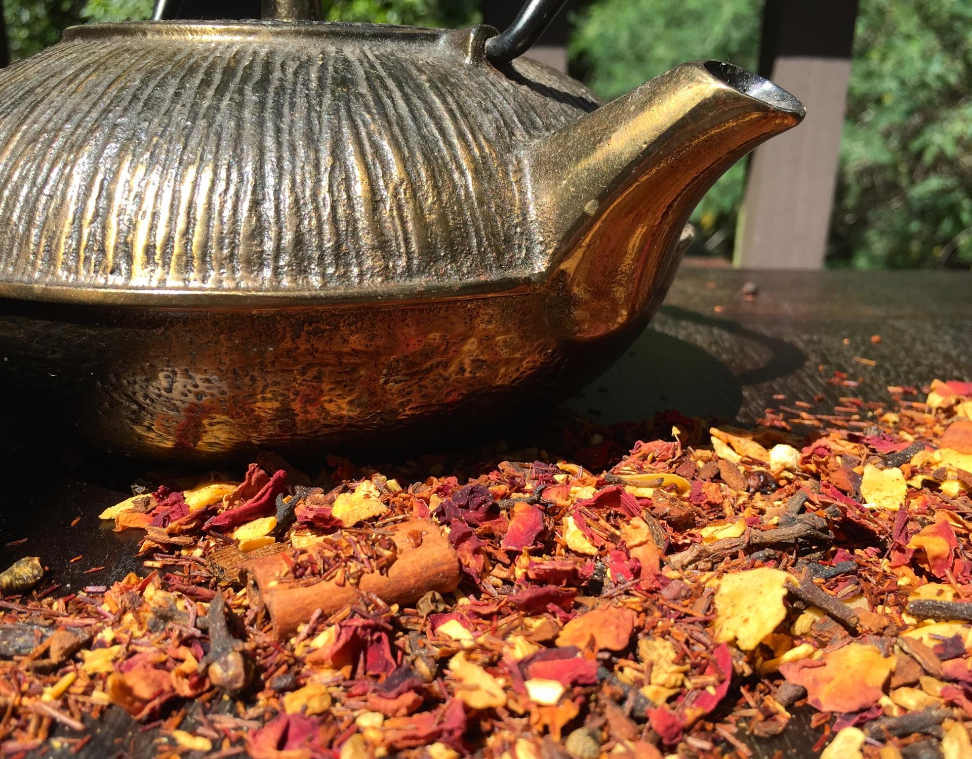 A rooibos chai tea blend.