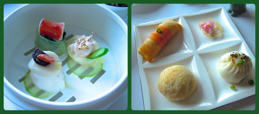 Assorted dim sum delicacies at Yan Toh Heen.