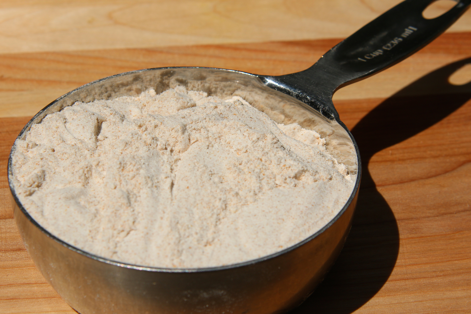 Whole-wheat flour.
