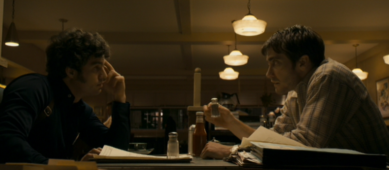 Mark Ruffalo and Jake Gyllenhaal in Zodiac, nowhere near San Francisco