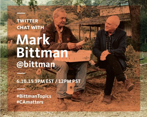 Mark Bittman Twitter Chat