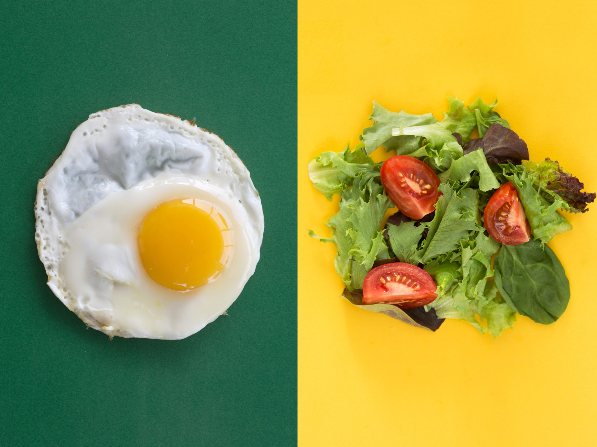 Eating eggs with your salad helps boost absorption of carotenoids — the pigments in tomatoes and carrots