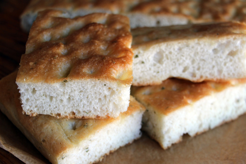 Recipe: Puffy Ligurian-Style Rosemary Focaccia Bread