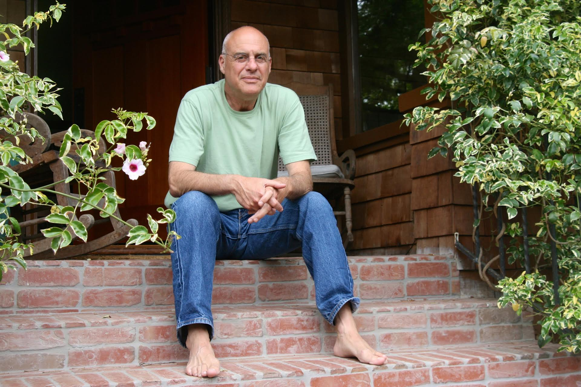 Mark Bittman at home in near U.C. Berkeley.