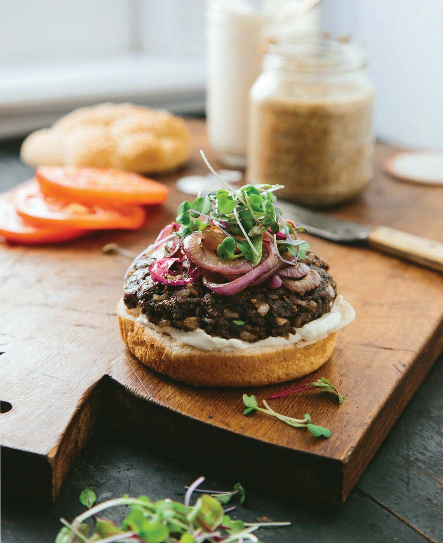 While these burgers won't fool anyone, they are tasty enough that omnivores will love them anyhow.
