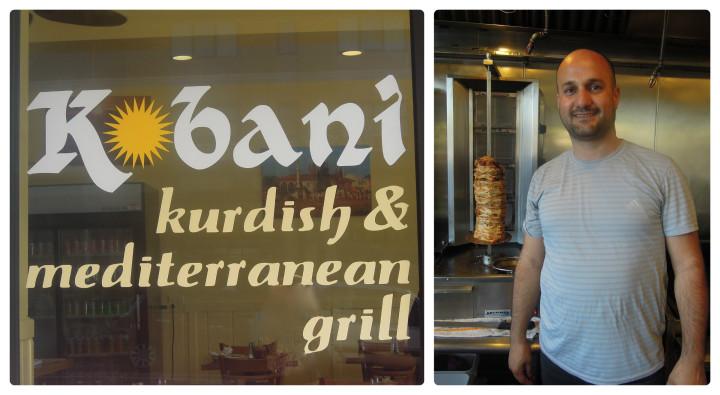 Kobani's owner Emin Tekin.