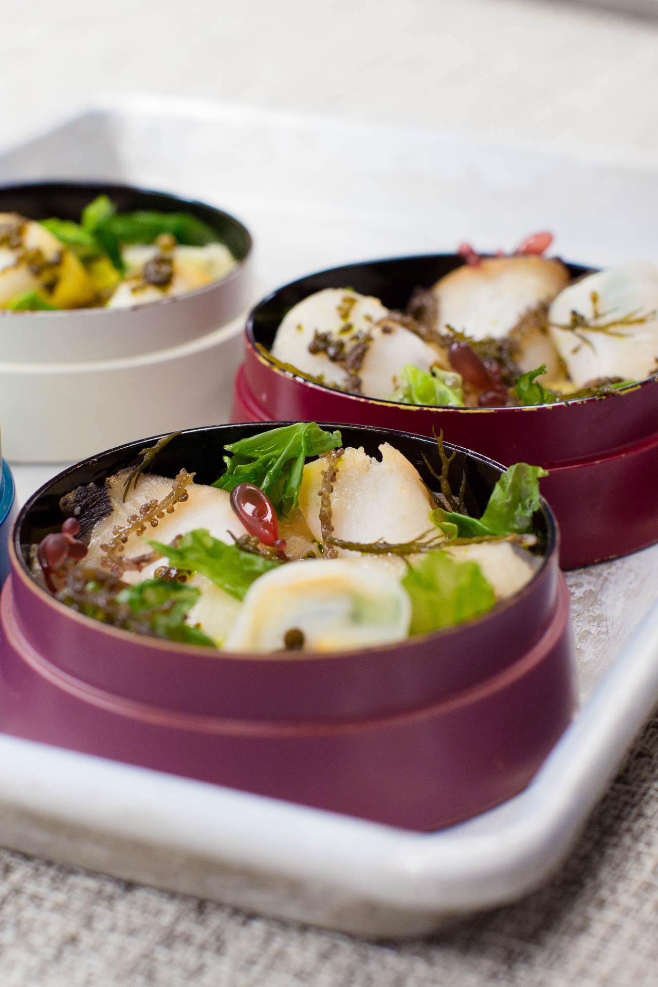 Abalone & Custard.