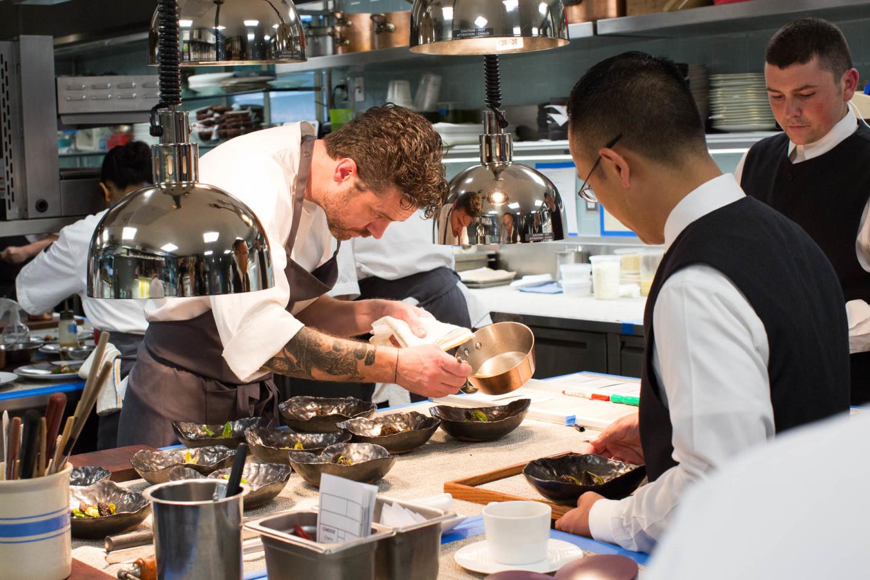 Gelinaz Shuffle, Chef Jock Zonfrillo and Manresa staff