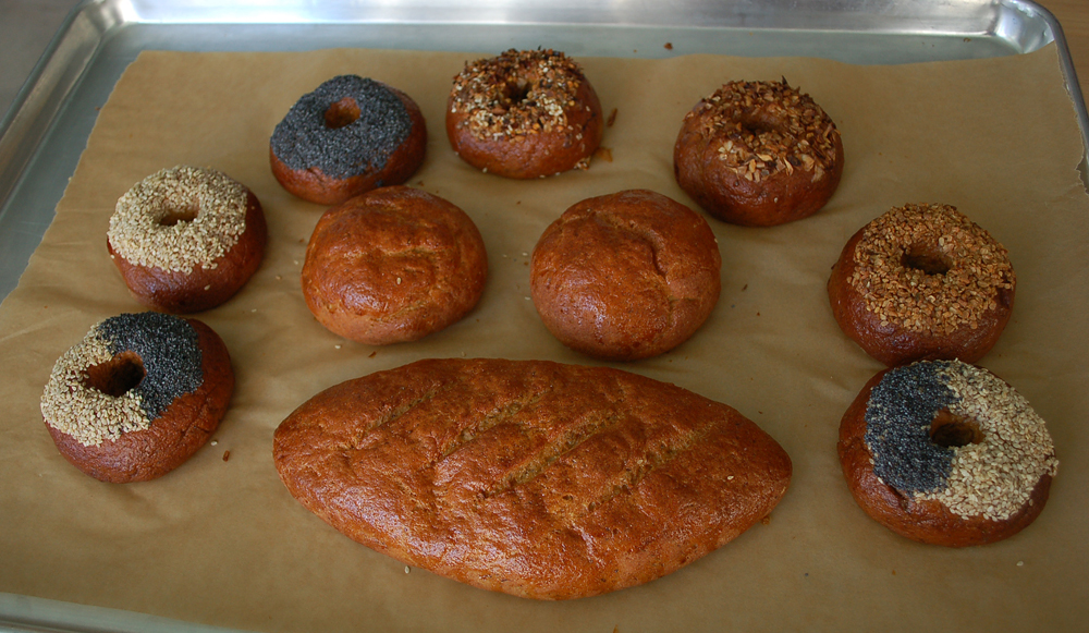 The various Montreal-style bagels, baguette and rolls available from Ducks & Dragons will soon be augmented with more baked goods.