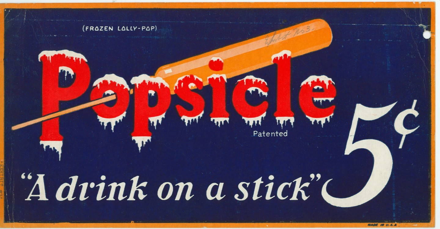 A 1923 ad for Popsicle Source: National Archives